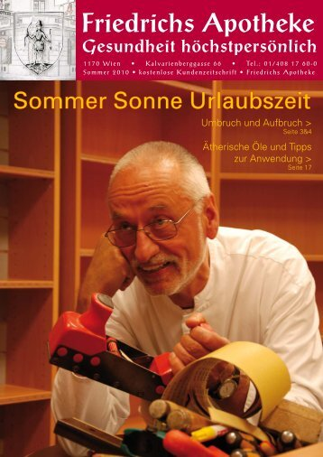 Sommer 2010 - Friedrichs Apotheke