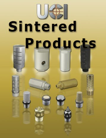 Sintered Products - Fluidraulics Inc