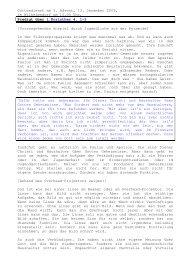 13.12 1.korinther 4, 1-5 3. Advent