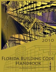 2010 Florida Building Code Handbook - Florida Department of ...