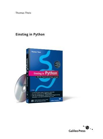 Einstieg in Python (PDF) - Galileo Computing