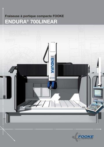 ENDURA ® 700LINEAR – .pdf, 1530 Ko - Fooke