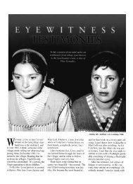 Eyewitness Testimonies - Garabandal