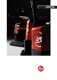 Broschüre Orion - Forklift