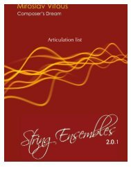 Articulation list - Best Service