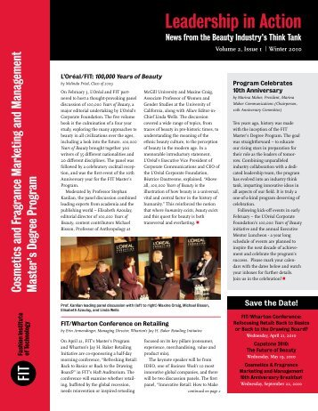 Volume 2, Issue 1 | Winter 2010 - Fashion Institute of Technology