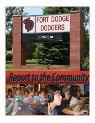 2009-2010 Annual Progress Report - Fort Dodge Community School ...