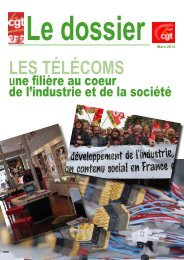 Le dossier TIC - Féderation - La cgt