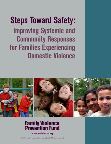 Steps Toward Safety: - Futures Without Violence