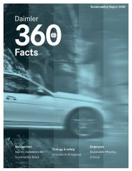 Facts - Daimler Sustainability Report 2011.