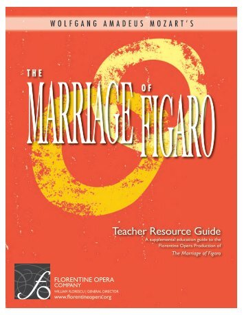 Teacher Resource Guide - Florentine Opera