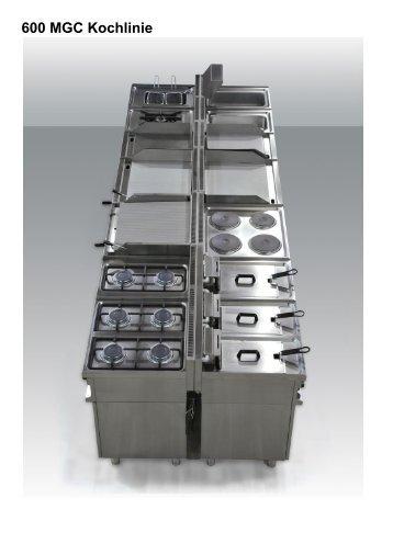 600 MGC Kochlinie - Gastro Concept