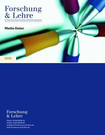 Media-Daten - Forschung & Lehre