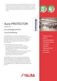 Aura Protector Datenblatt - Aura Light