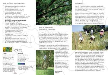 kunst land hoher flaeming - Naturpark Hoher Fläming