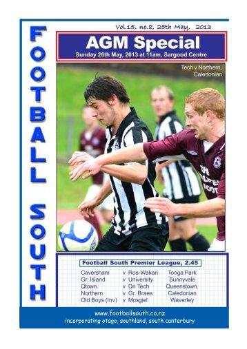 25th and 26th May 2013 - Football South