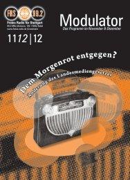 Download (PDF) - Freies Radio für Stuttgart