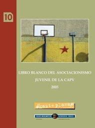 libro blanco del asociacionismo juvenil de la capv 2003 - Getxo