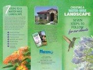 Water-Wise Landscape Brochure