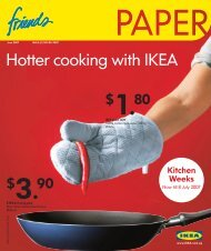 Hotter cooking with IKEA - IKEA FAMILY Singapore - IKEA Singapore