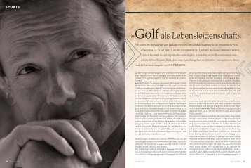 SPORTS - Bernhard Langer