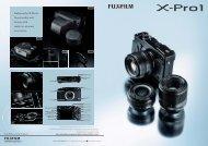 X PRO 1 pdf - Fujifilm USA