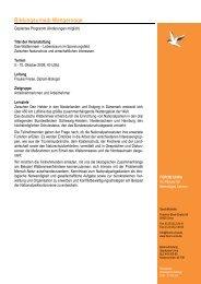 Programmablauf Wangerooge 2008-2 - Forum Unna