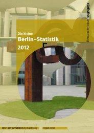 Berlin Statistik 2012