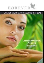 UNTERSTÜTZUNG FÜR IHR BUSINESS - Forever Living Products