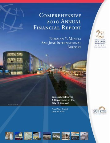 Comprehensive Annual Financial Report - San Jose International ...