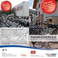 walensee fahrradverleih - Flumserberg