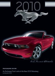 Make It Your Mustang - Ford