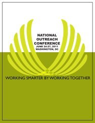 working smarter by working together - Gallaudet University