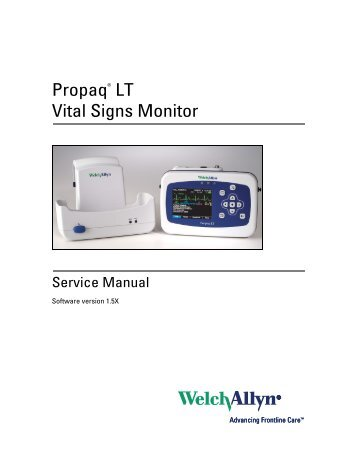 Welch allyn propaq lt patient monitor free shipping tiger.