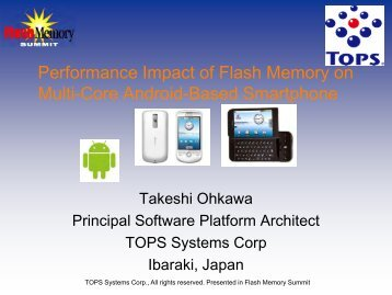 Performance Impact of Flash Memory on Multi-Core Android-Based ...