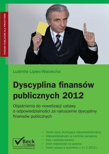 Dyscyplina finansów publicznych 2012 - Gandalf