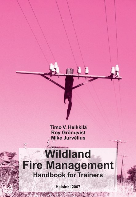 Wildland Fire Management: Handbook for Trainers - The Global Fire ...