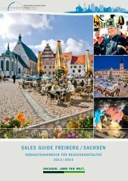 Sales Guide 2013/2014 - Freiberg-Service