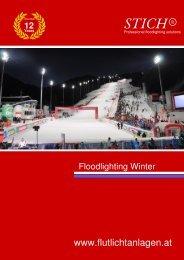 STICH® - Katalog Flutlicht Winter englisch - Flutlichtanlagen