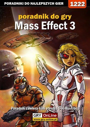 Oficjalny polski poradnik GRY-OnLine do gry Mass Effect 3 - Gandalf