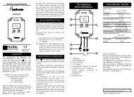 Bedienungsanleitung_HI991401-ph/Temperatur-Indikator Hanna ...