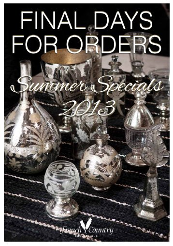 Cobblestone collection top knobs for French country collection