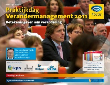 Praktijkdag Verandermanagement 2011 - Focus Conferences