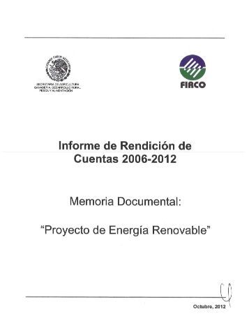 Proyecto de Energía Renovable - Firco