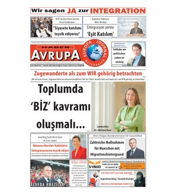 EUROPA JOURNAL - HABER AVRUPA OKTOBER 2013