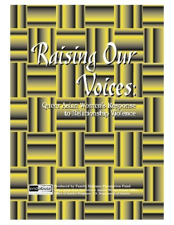 Raising Our Voices: Queer Asian Women's Response to ...