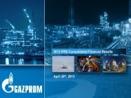 2012 IFRS Consolidated Financial Results Presentation