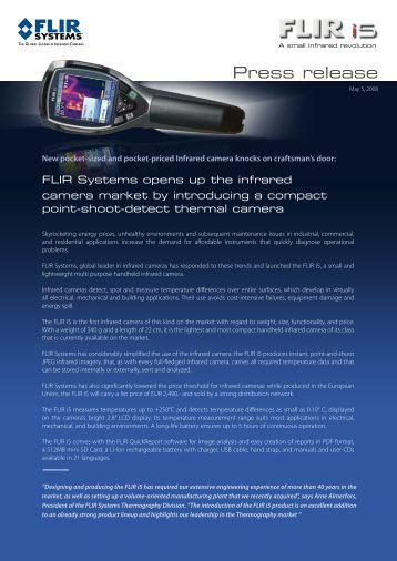 Press release - Flir Systems
