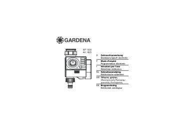 gardena bew sserungscomputer c 1060 profi solar. Black Bedroom Furniture Sets. Home Design Ideas