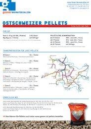 Ostschweizer Pellets - Gasser Baumaterialien AG